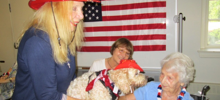 Witherell Hosts Patriotic Pooches on Parade