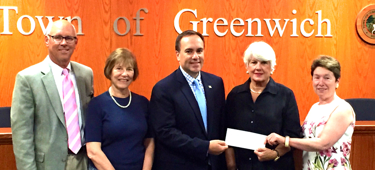 The Friends of Nathaniel Witherell Presents $1 Million Gift to Town of Greenwich