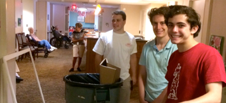 Volunteer Spotlight: Local Teen Completes Boy Scout Eagle Project at Witherell