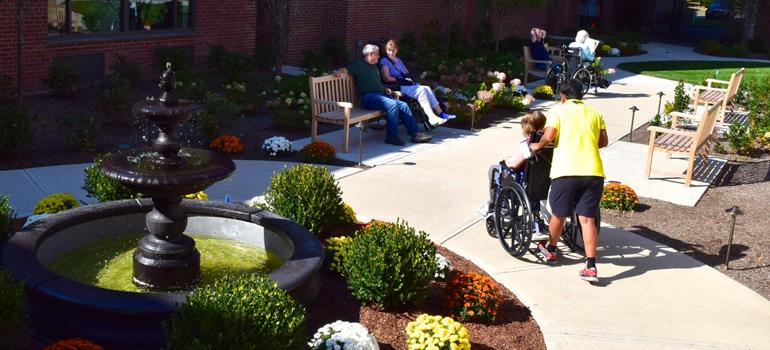 Nathaniel Witherell Unveils New Friendship Garden