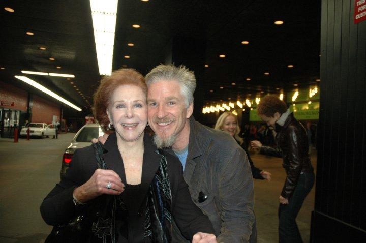 Nola with her nephew, actor Matthew Modine.