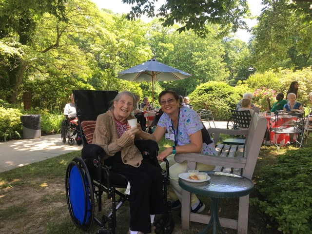 Summer Barbecues at Nathaniel Witherell: Good Friends and Great Food!