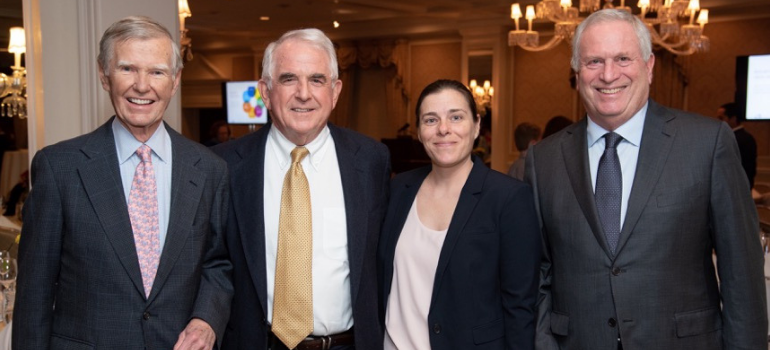 Friends of Nathaniel Witherell Honor Dr. Francis X. Walsh at Benefit Dinner