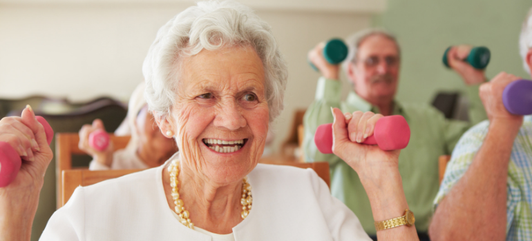 Weight Training: A Workout That Works for Seniors