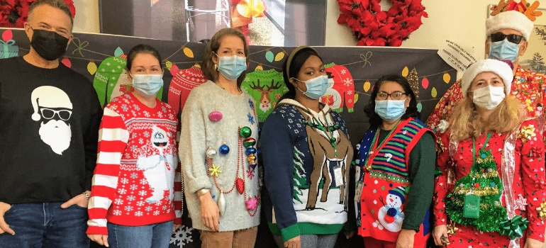 In December, Our Halls Were Decked With Holiday Cheer!